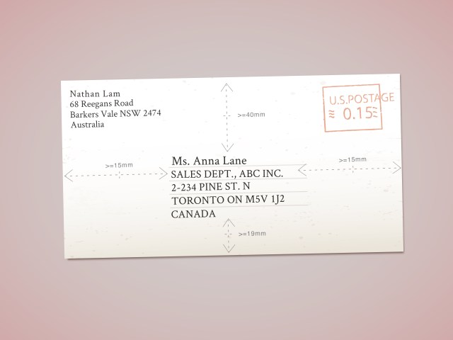 How to Address Envelopes to Canada: 21 Steps (with Pictures)