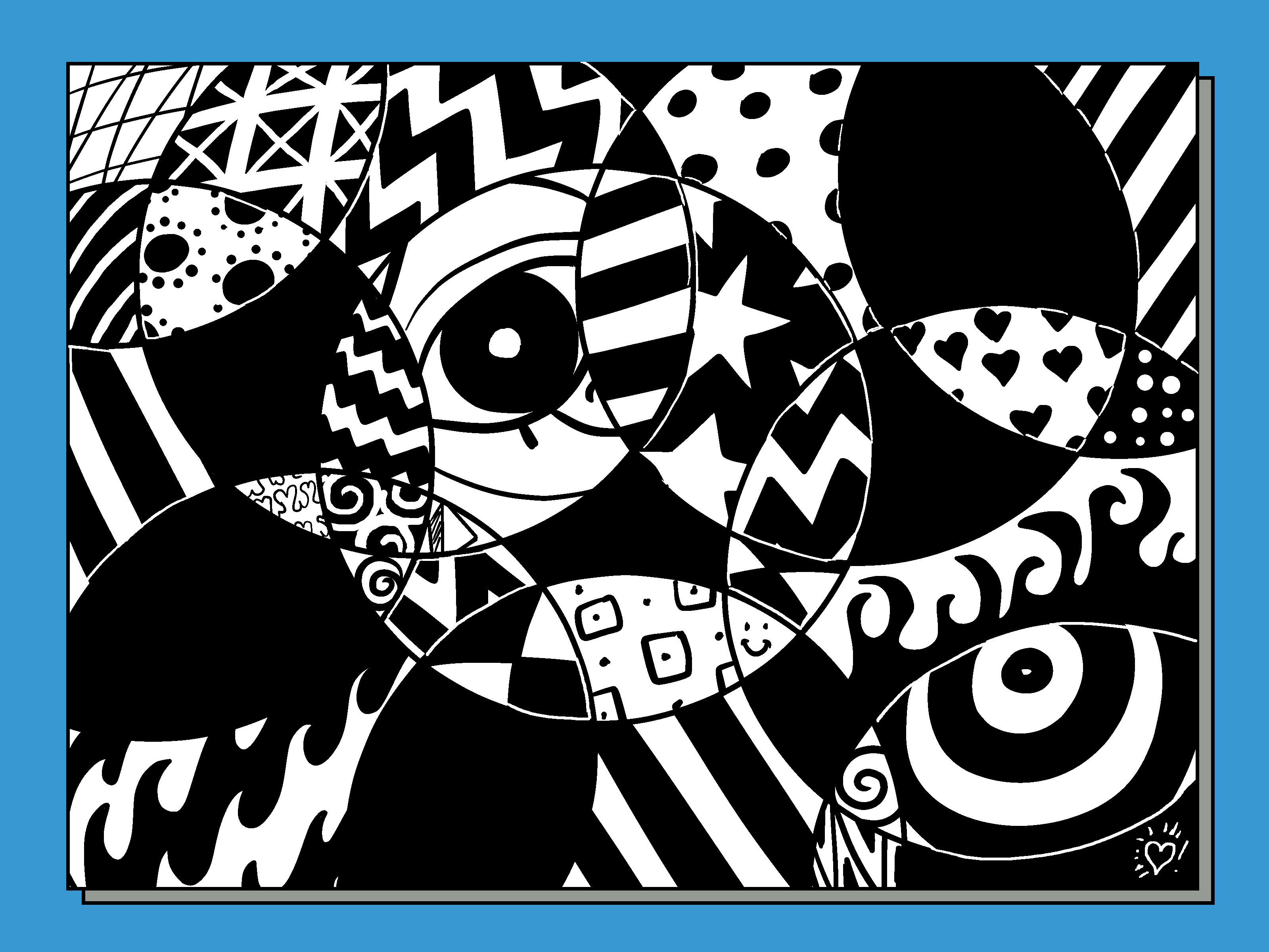 How To Create A Random Abstract Drawing 11 Steps With