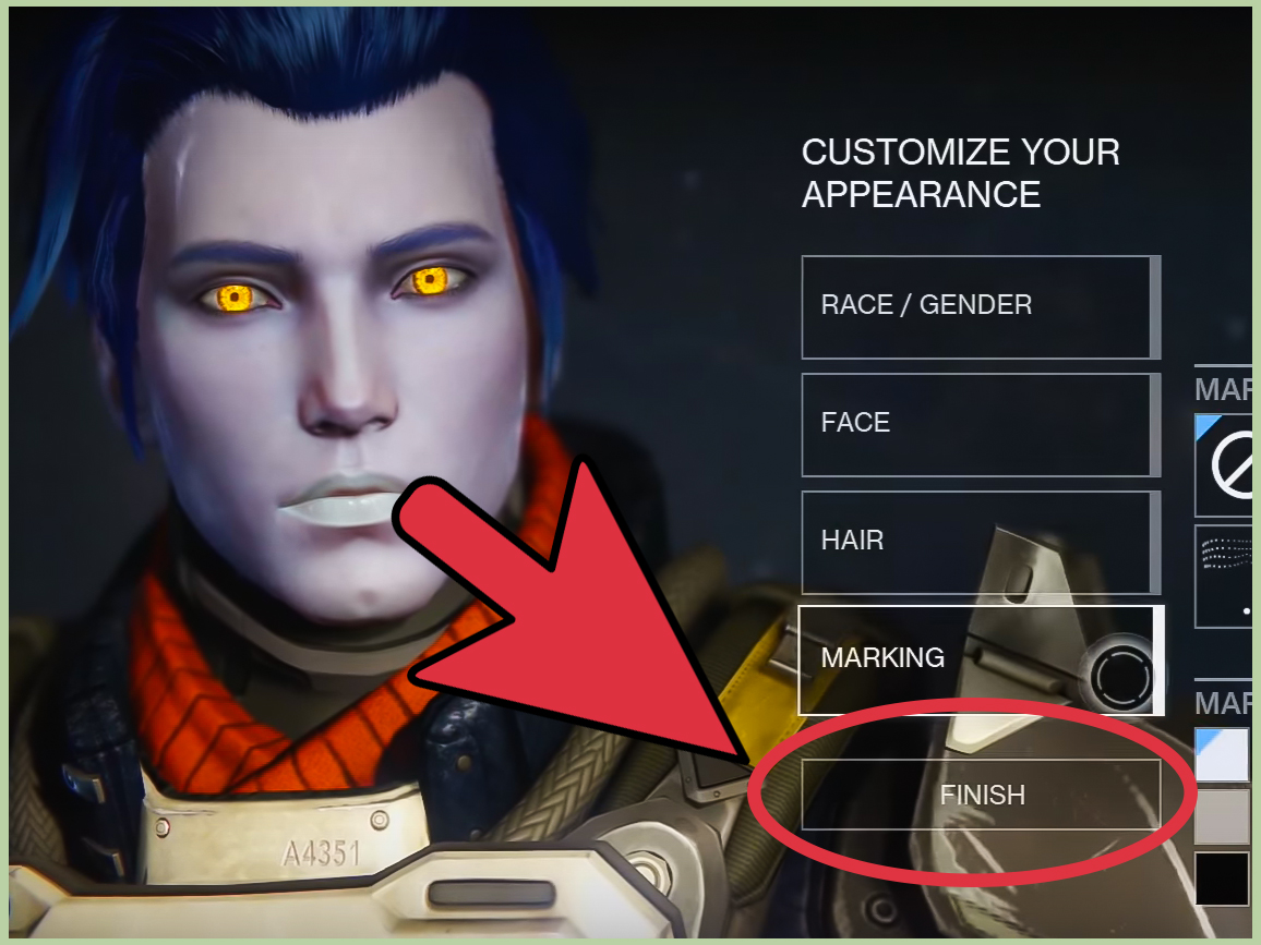 How To Create A Character In Destiny 7 Steps With Pictures