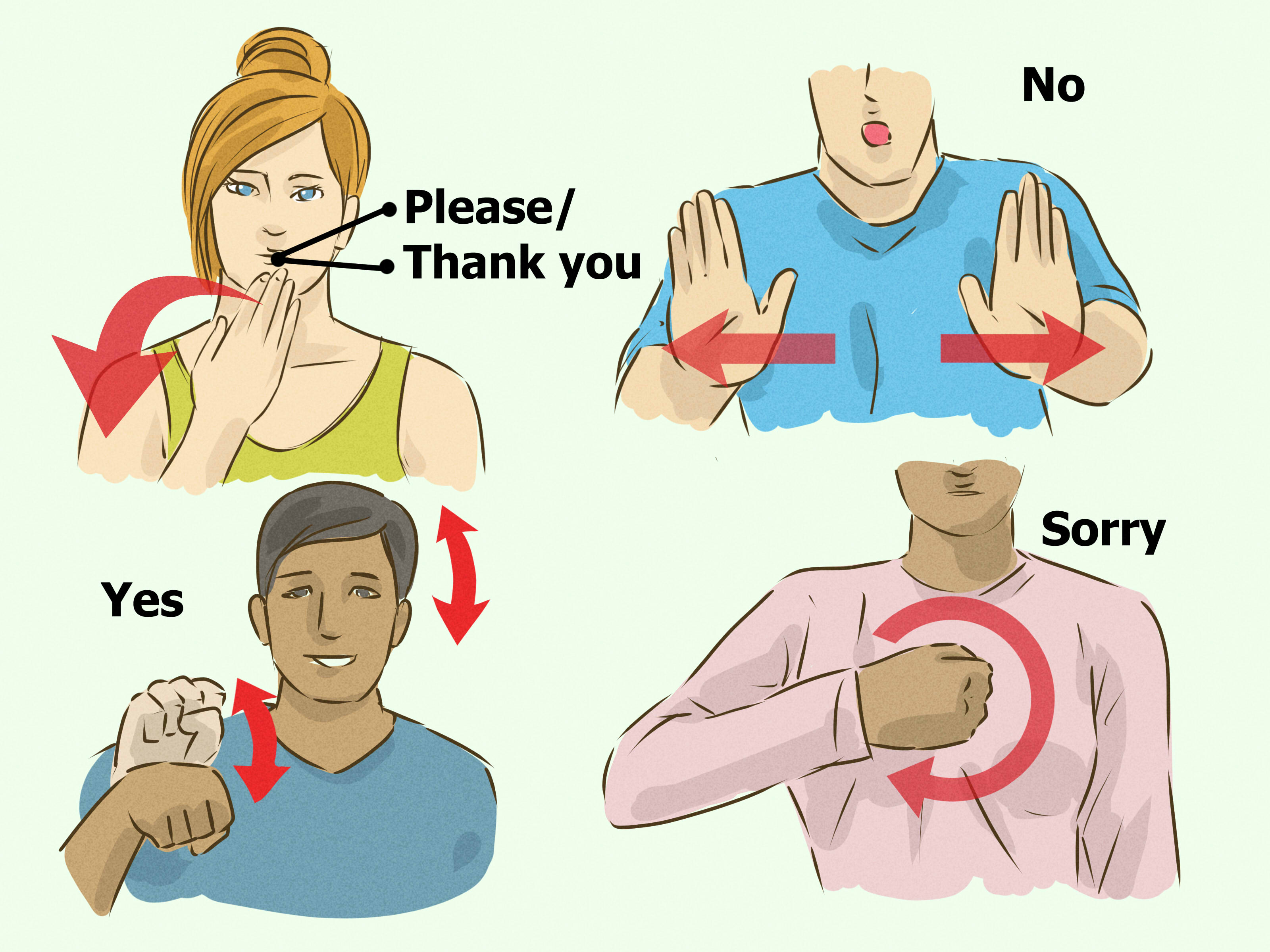 3 Ways To Sign Simple Phrases In British Sign Language