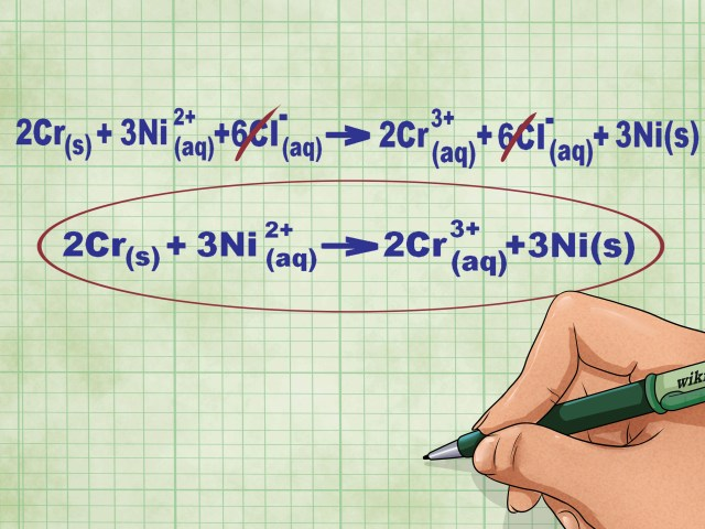 How to Write a Net Ionic Equation: 13 Steps (with Pictures)