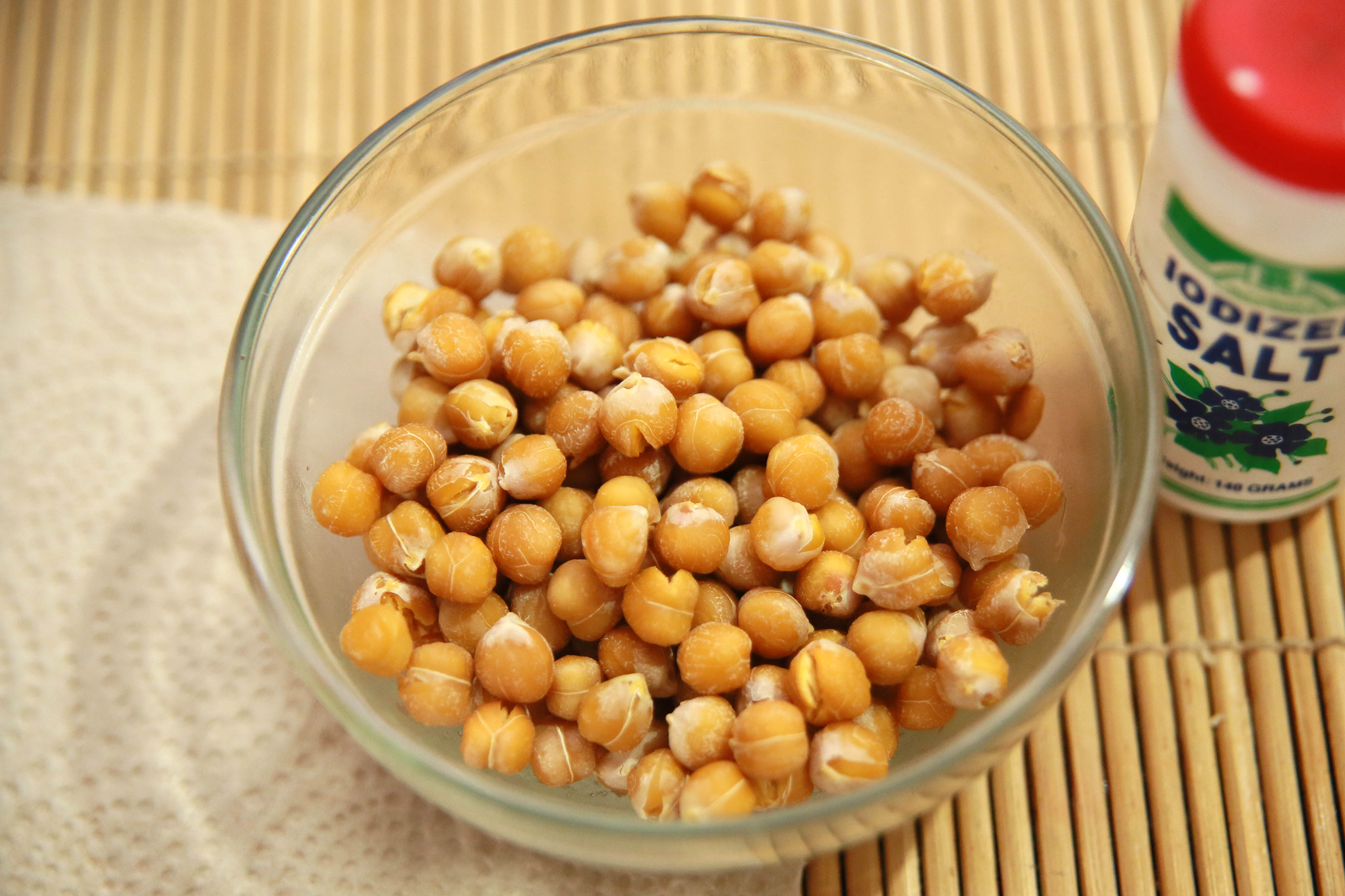 How To Make Baked Chickpea Or Garbanzo Snacks 7 Steps