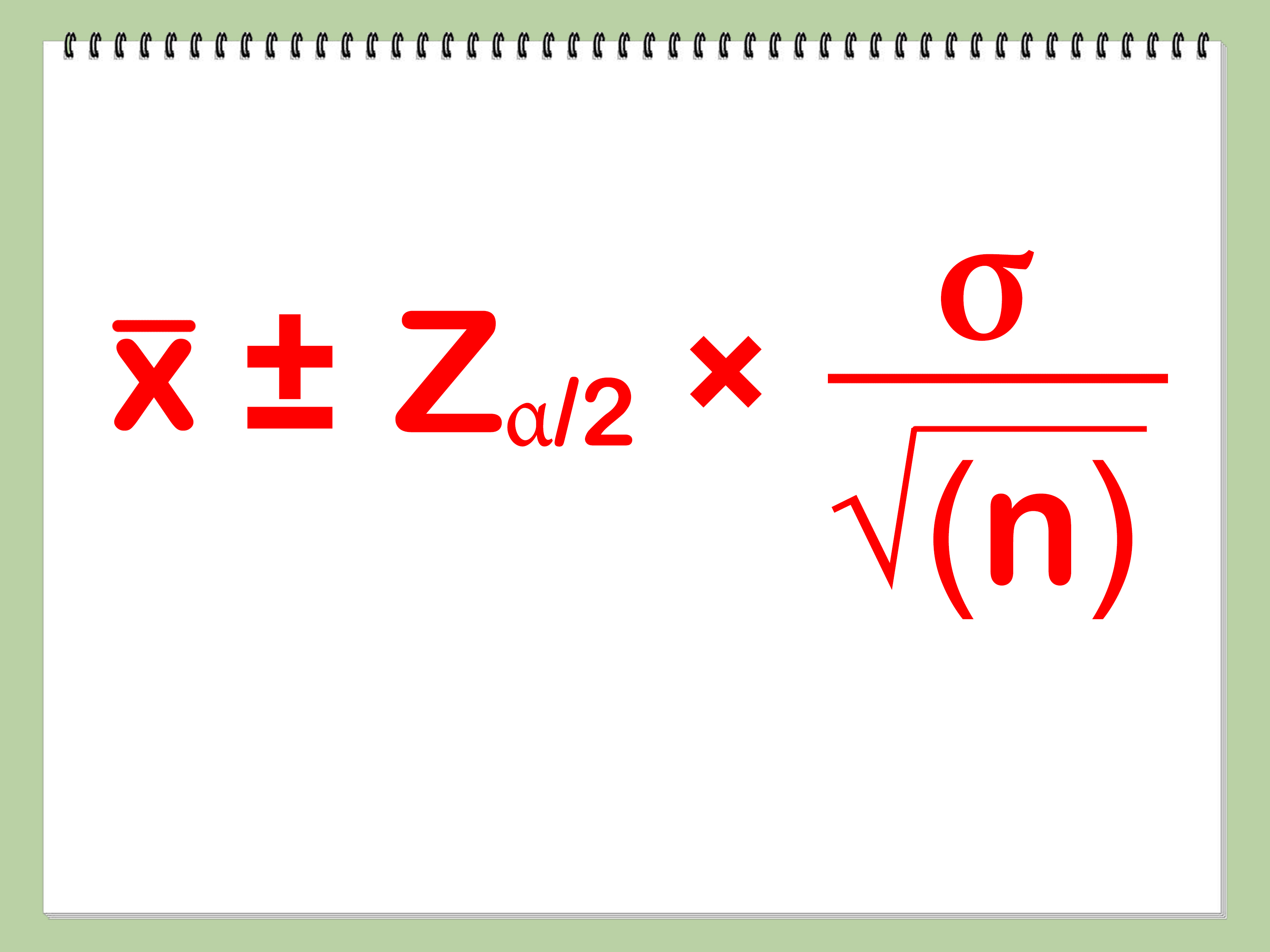 How To Calculate Confidence Interval 6 Steps With Pictures