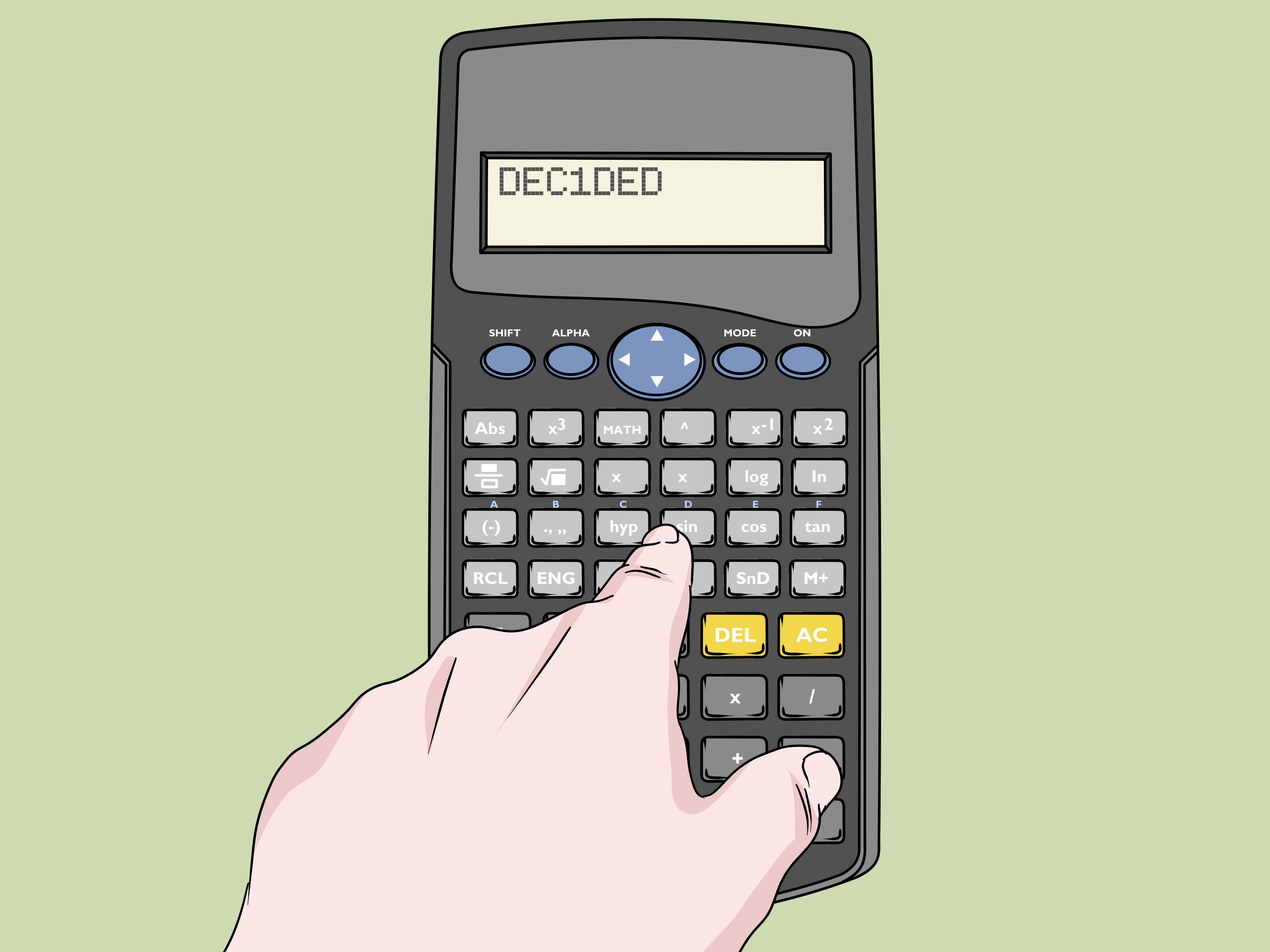 How To Write Words With A Calculator