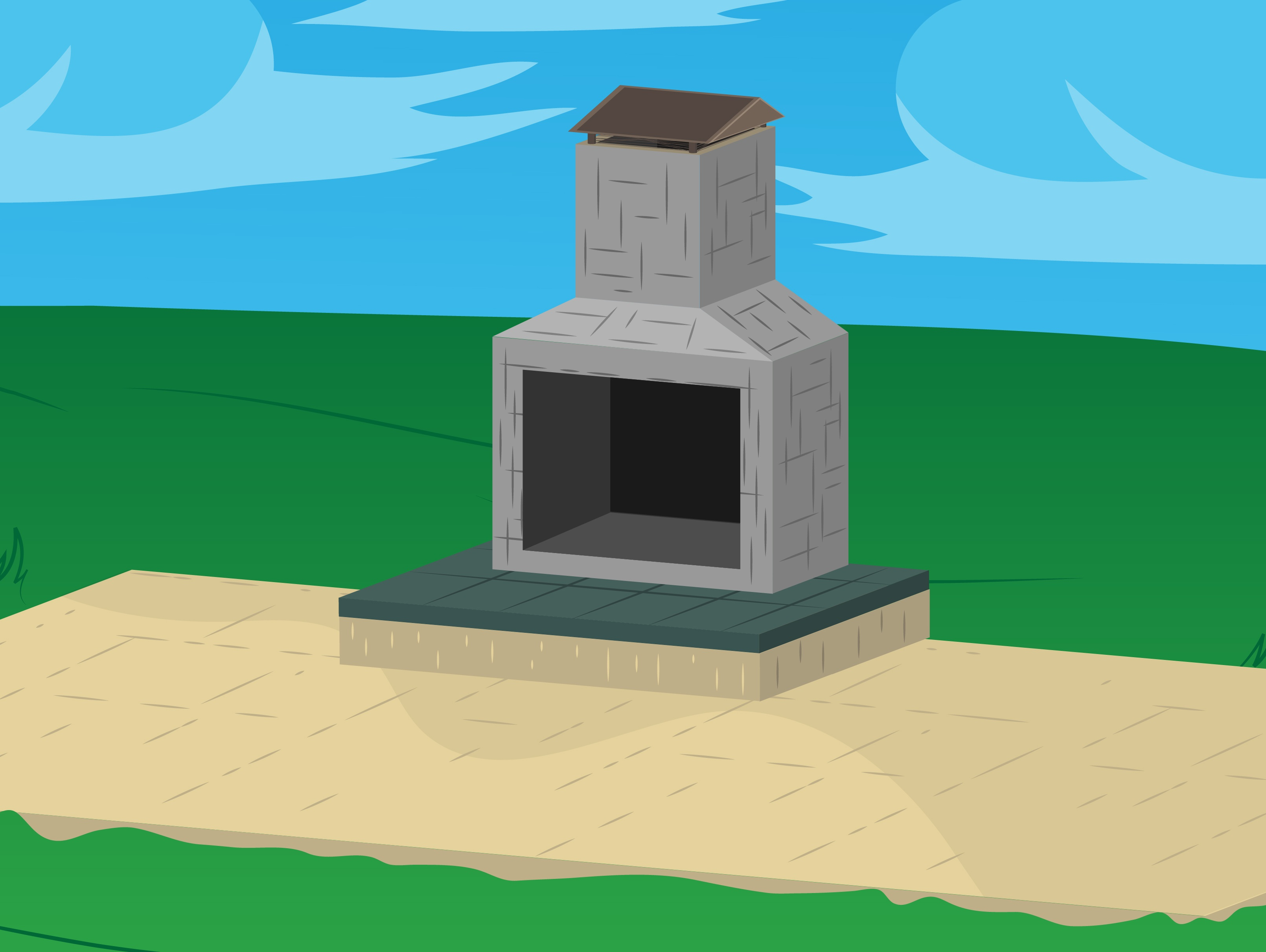 Typical Outdoor Fireplace Dimensions