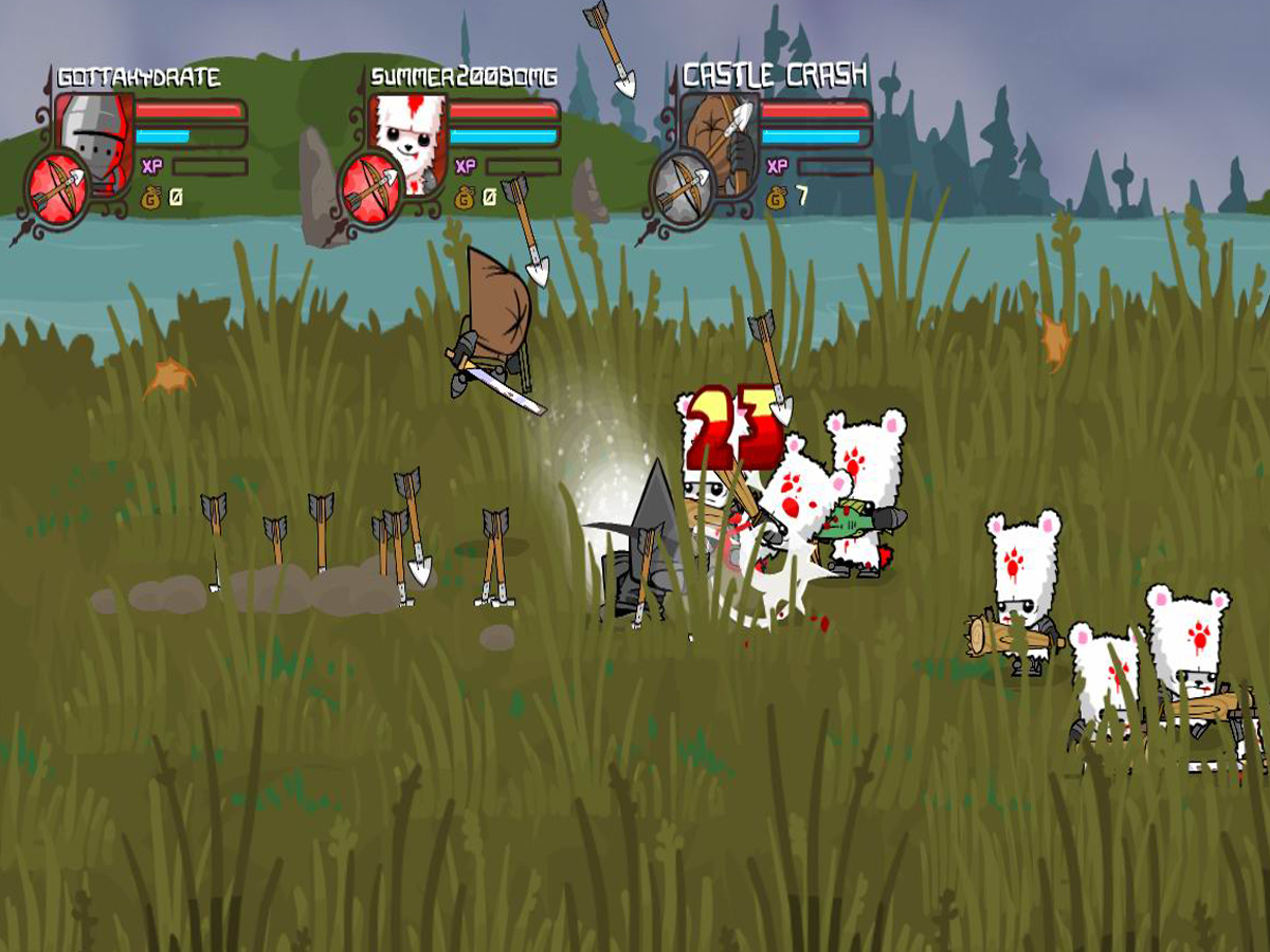How To Level Fast In Castle Crashers 7 Steps With Pictures