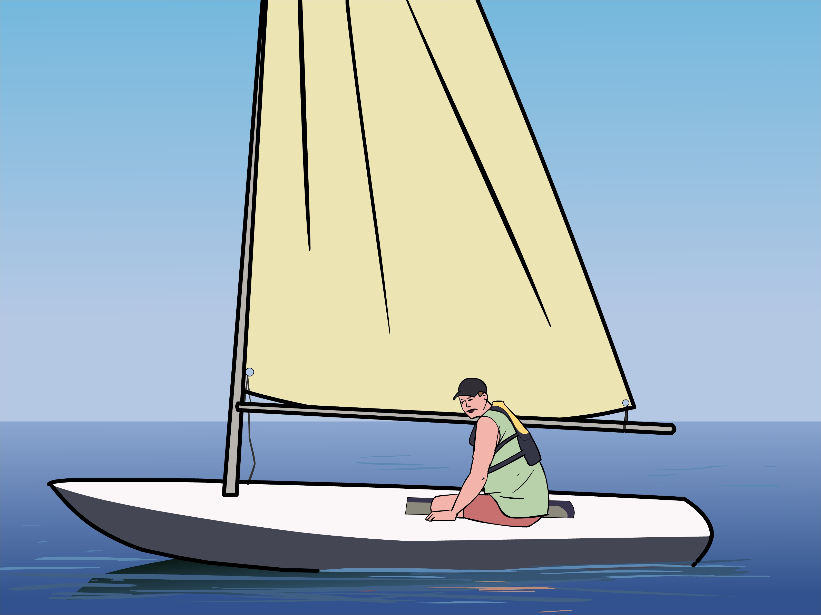 How To Rig A Laser Sailboat 12 Steps With Pictures