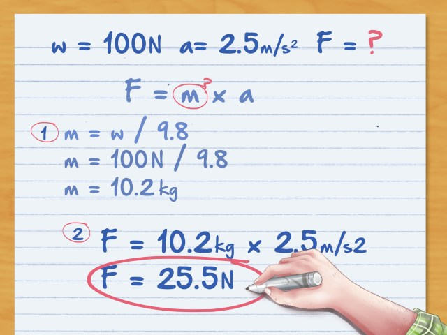 How to Calculate Force: 29 Steps (with Pictures) - wikiHow