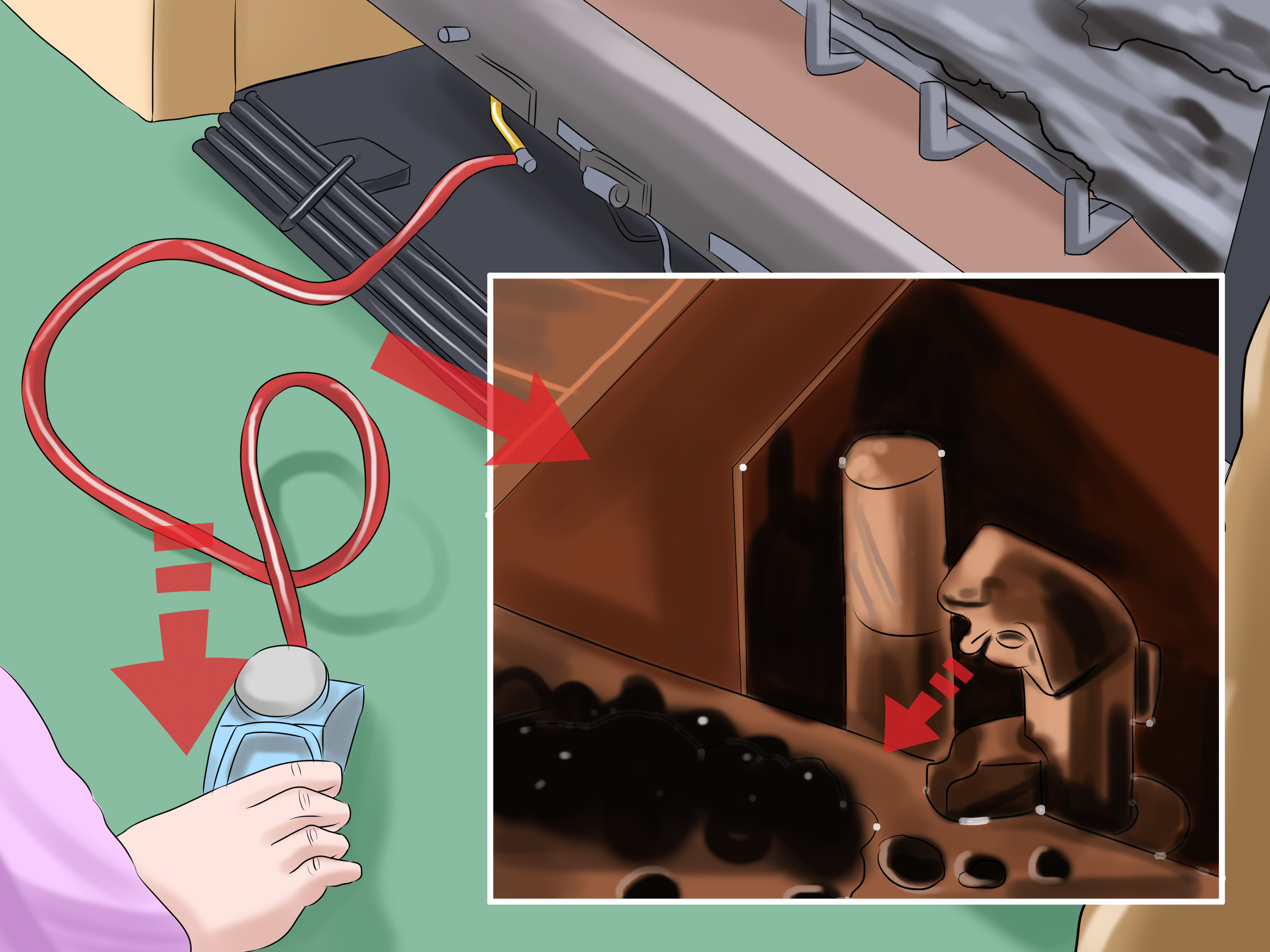How To Clean Gas Logs 10 Steps With Pictures