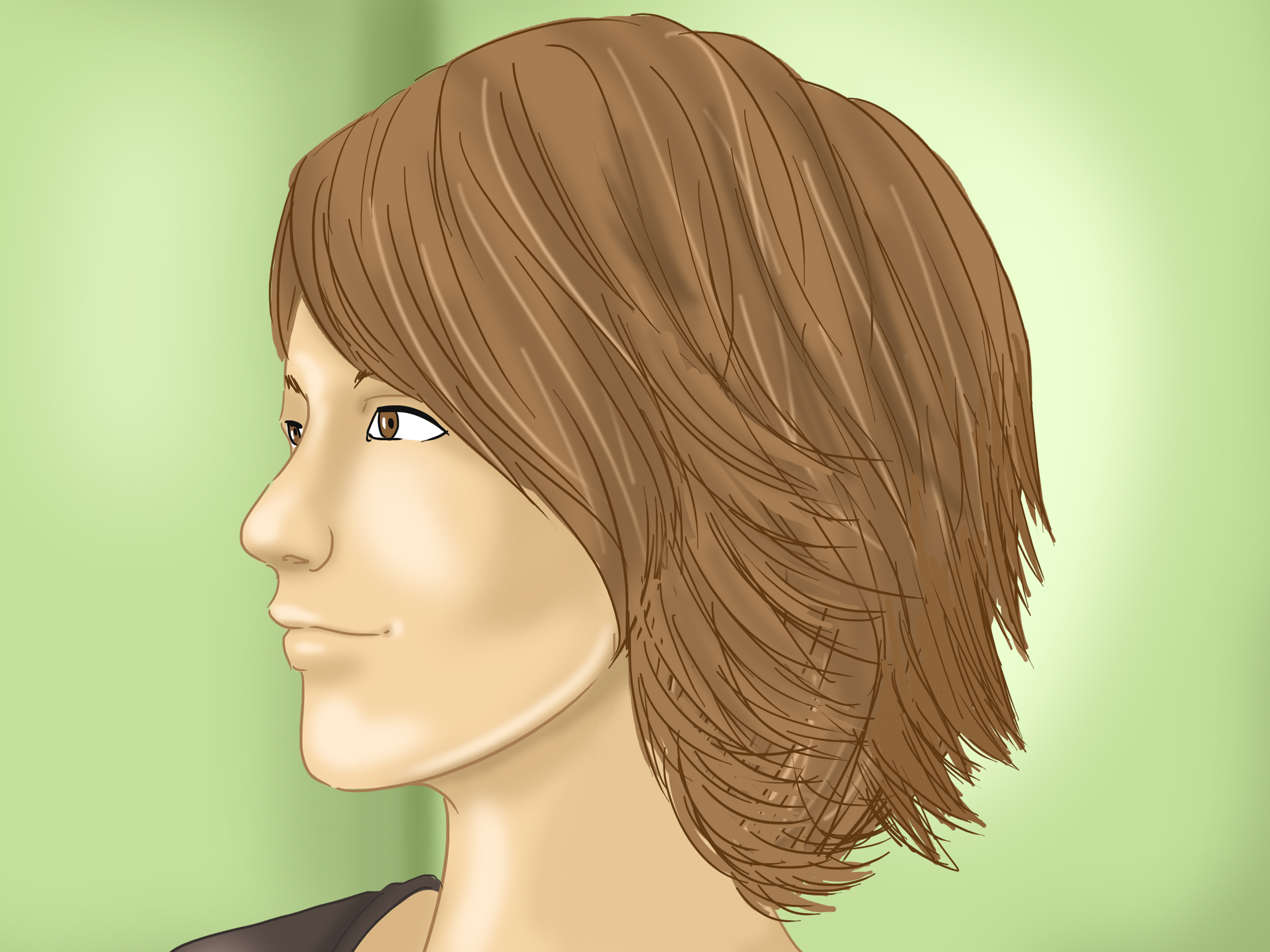 How To Do Layered Visual Kei Hair 11 Steps With Pictures