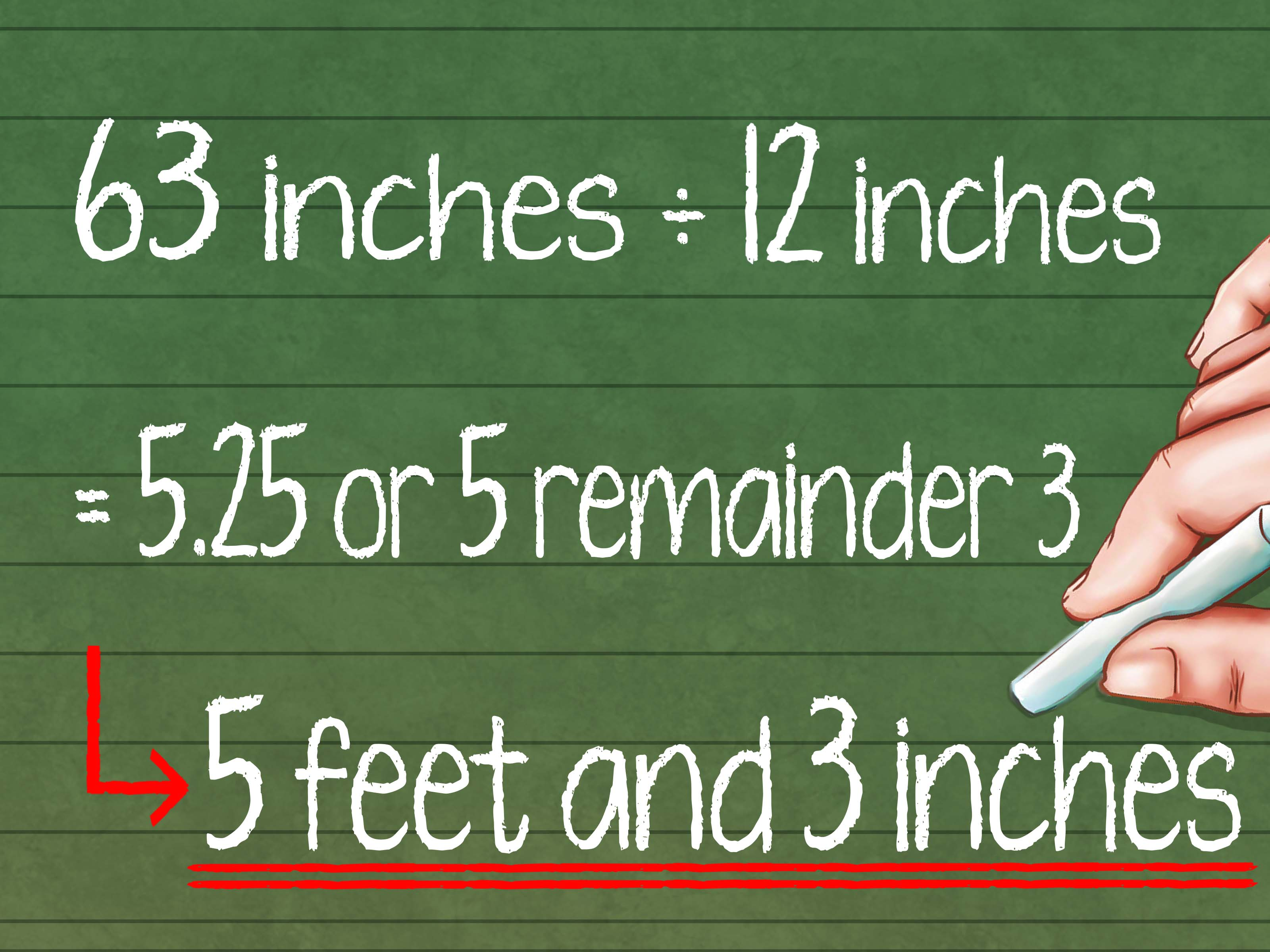 How To Convert Feet To Inches 8 Steps With Pictures