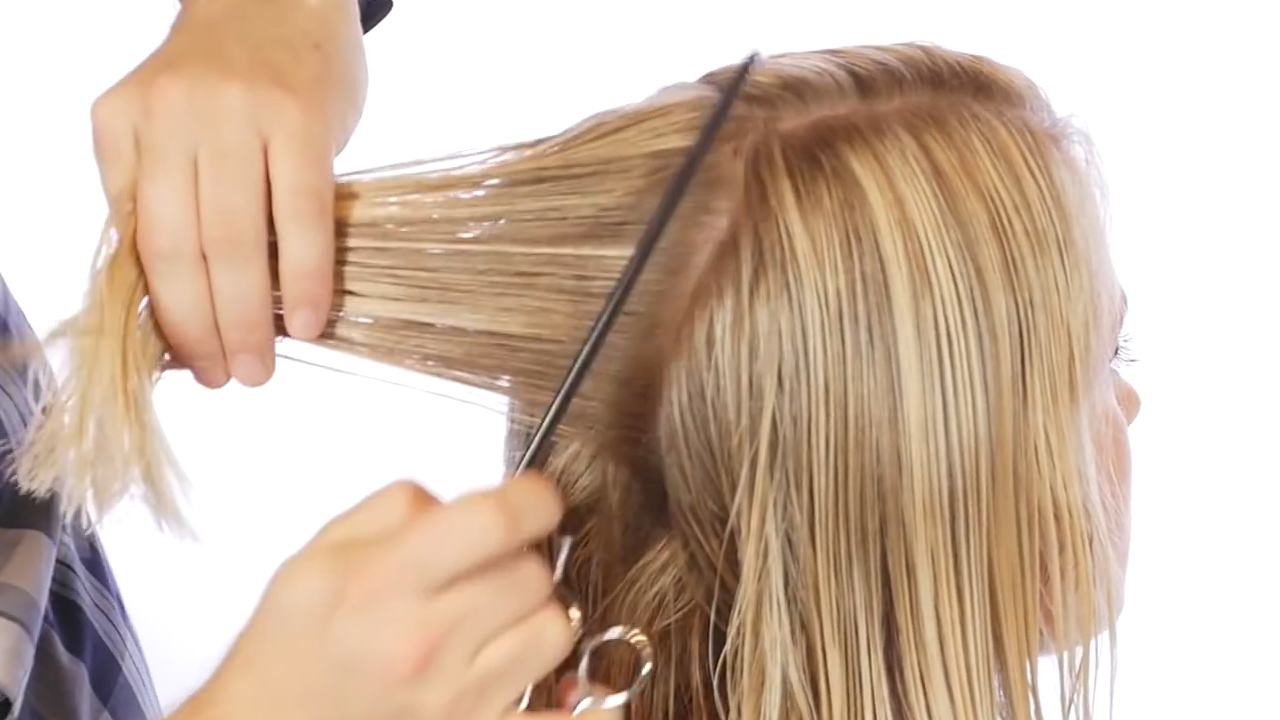 The Best Way To Cut A Bob WikiHow