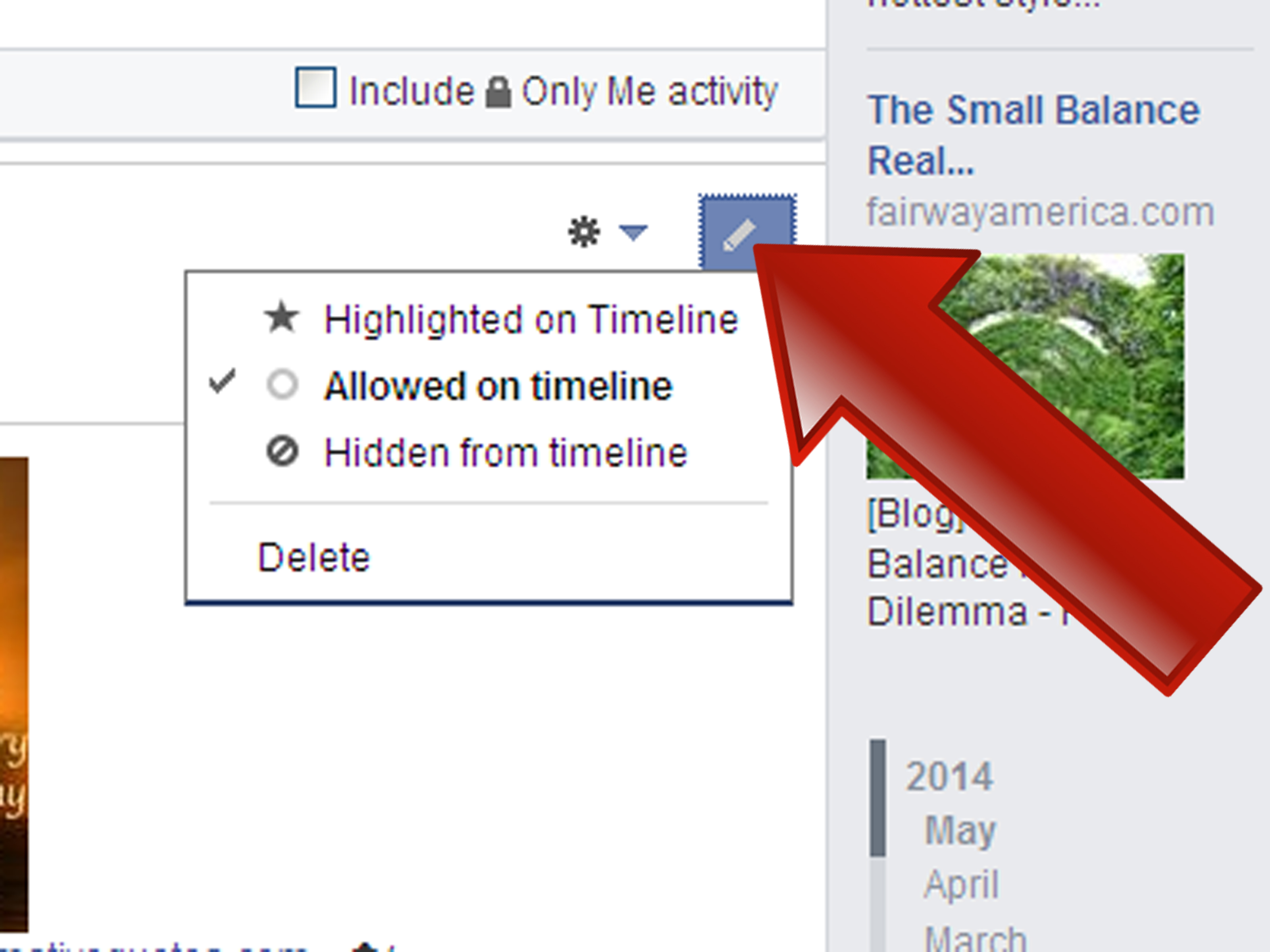 How To Use The Facebook Activity Log Page 7 Steps With Pictures