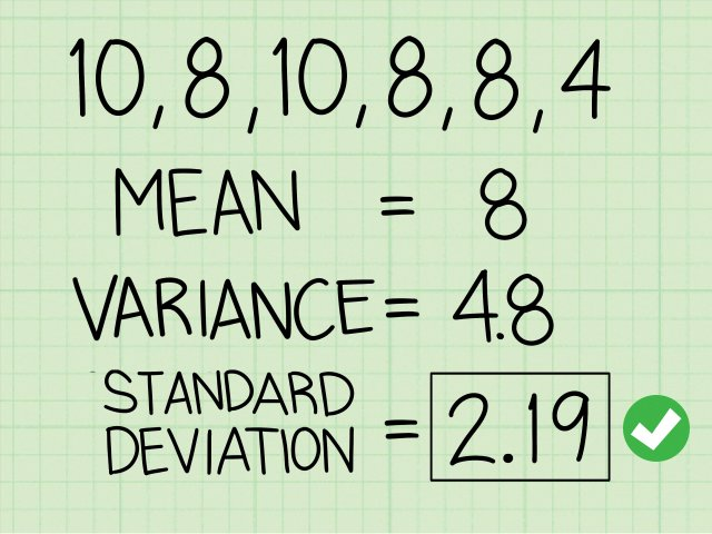 How to Calculate Standard Deviation: 15 Steps (with Pictures)