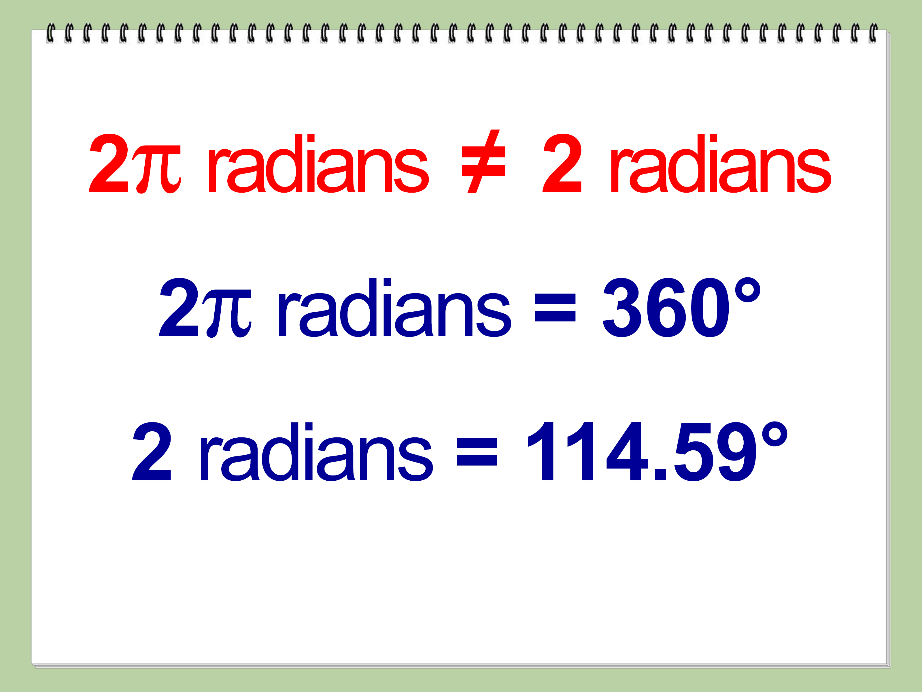 Ba Degree Convert Degrees To Radians