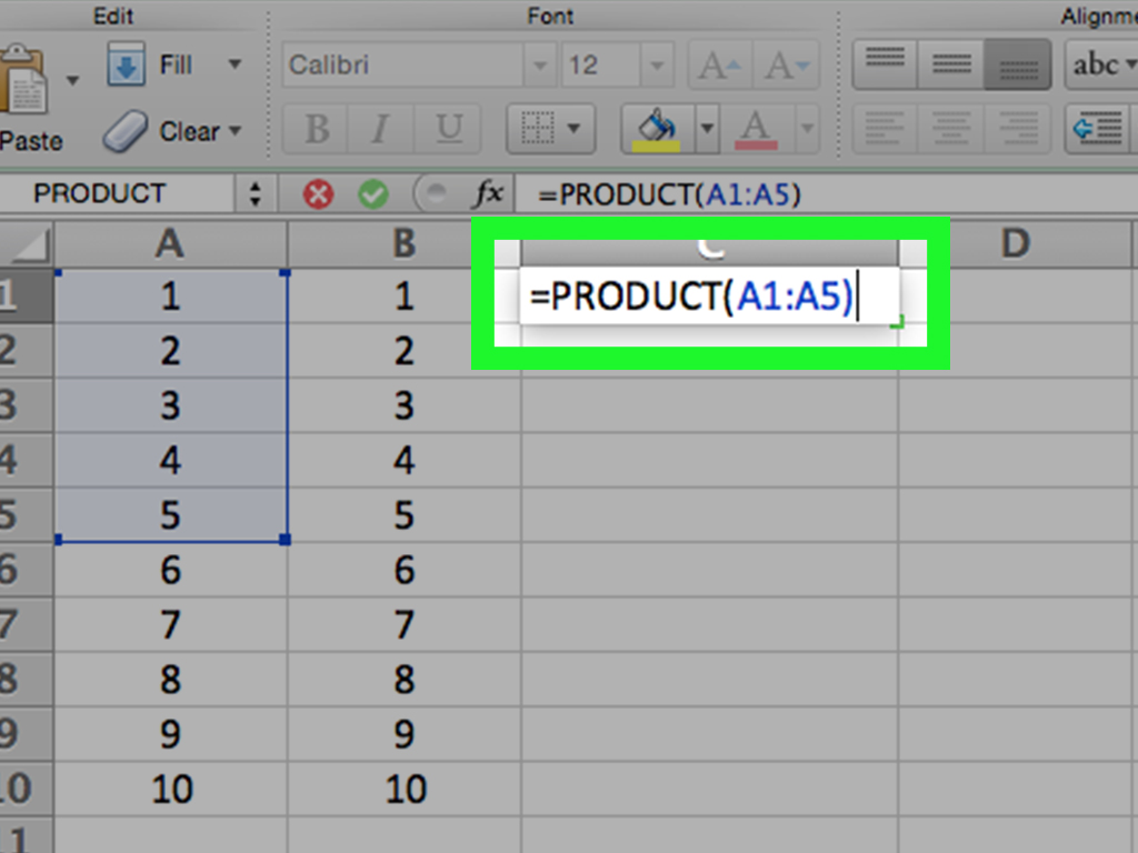 3 Ways To Multiply In Excel