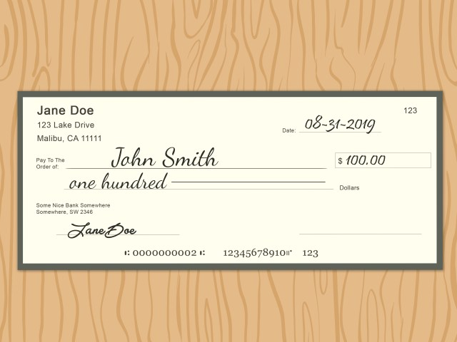 How to Fix Mistakes Made when Writing Checks: 11 Steps