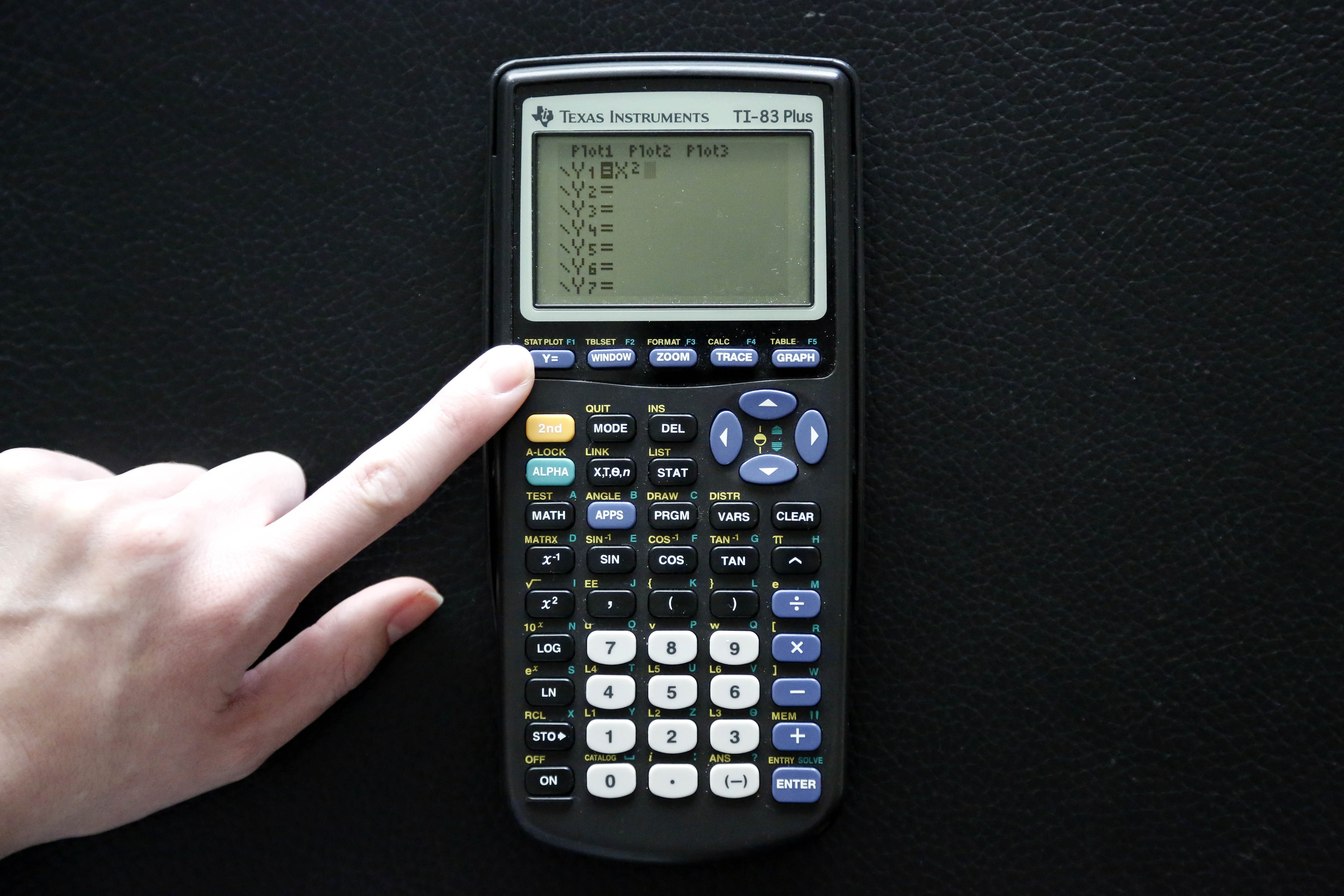 How To Use A Ti 83 Plus Graphing Calculator 8 Steps
