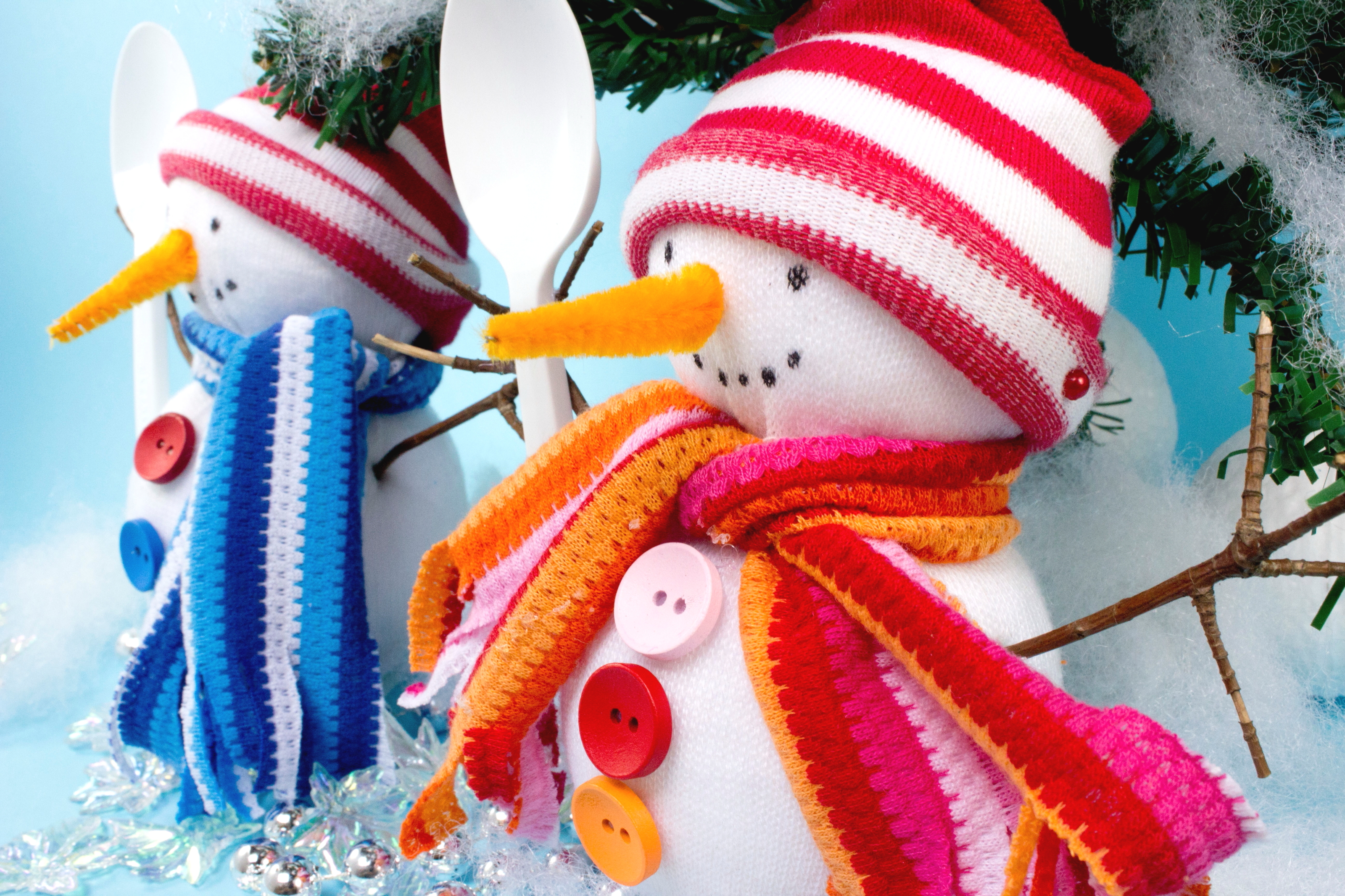 How To Make A Snowman Decoration 10 Steps With Pictures