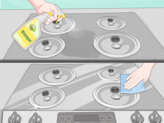 How to Remove a Burn Mark from a Stove (with Pictures) - wikiHow