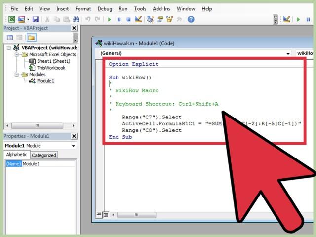 Einfache Makros in Excel schreiben (mit Bildern) – wikiHow
