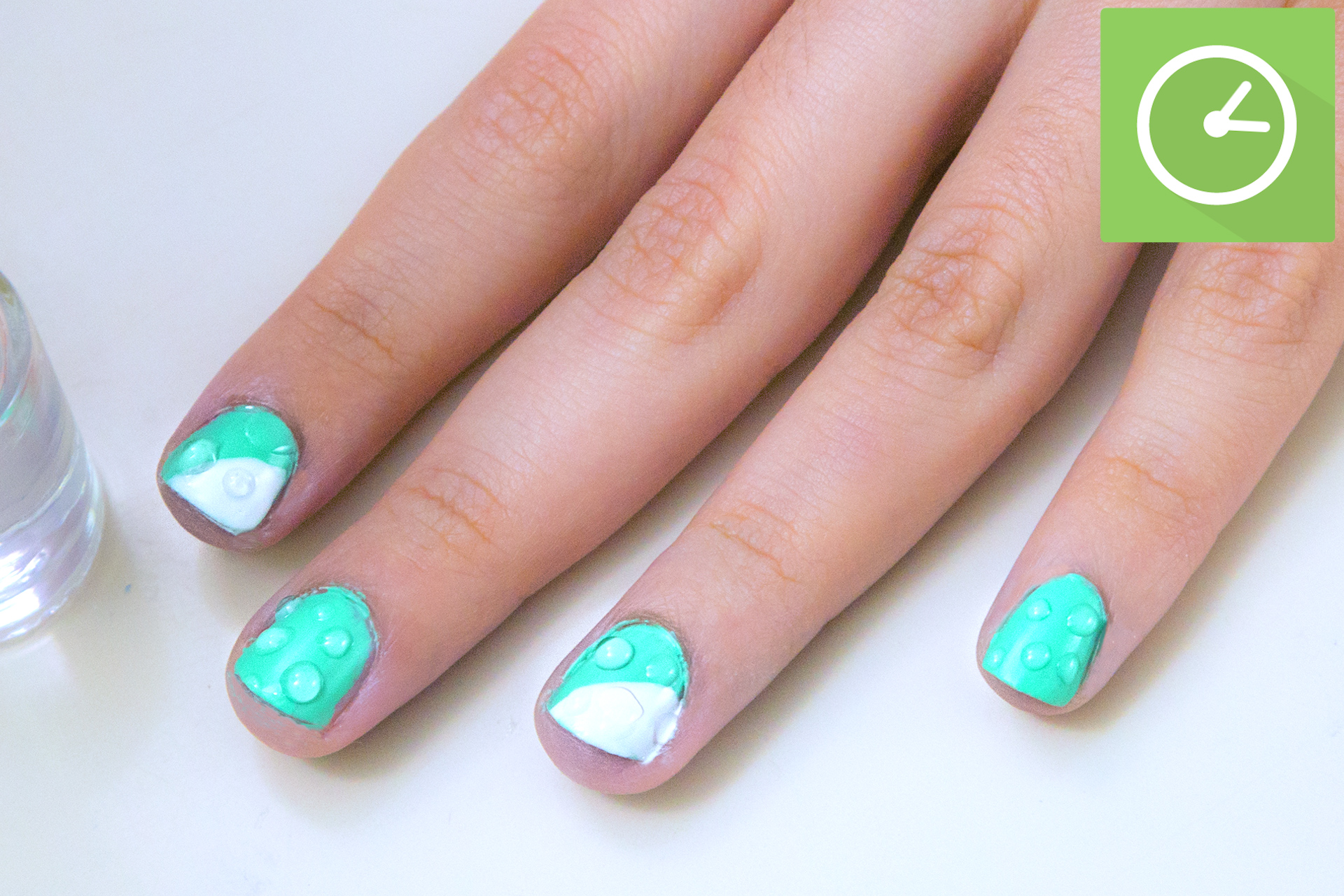 How To Do Water Droplet Nail Art 11 S With Pictures