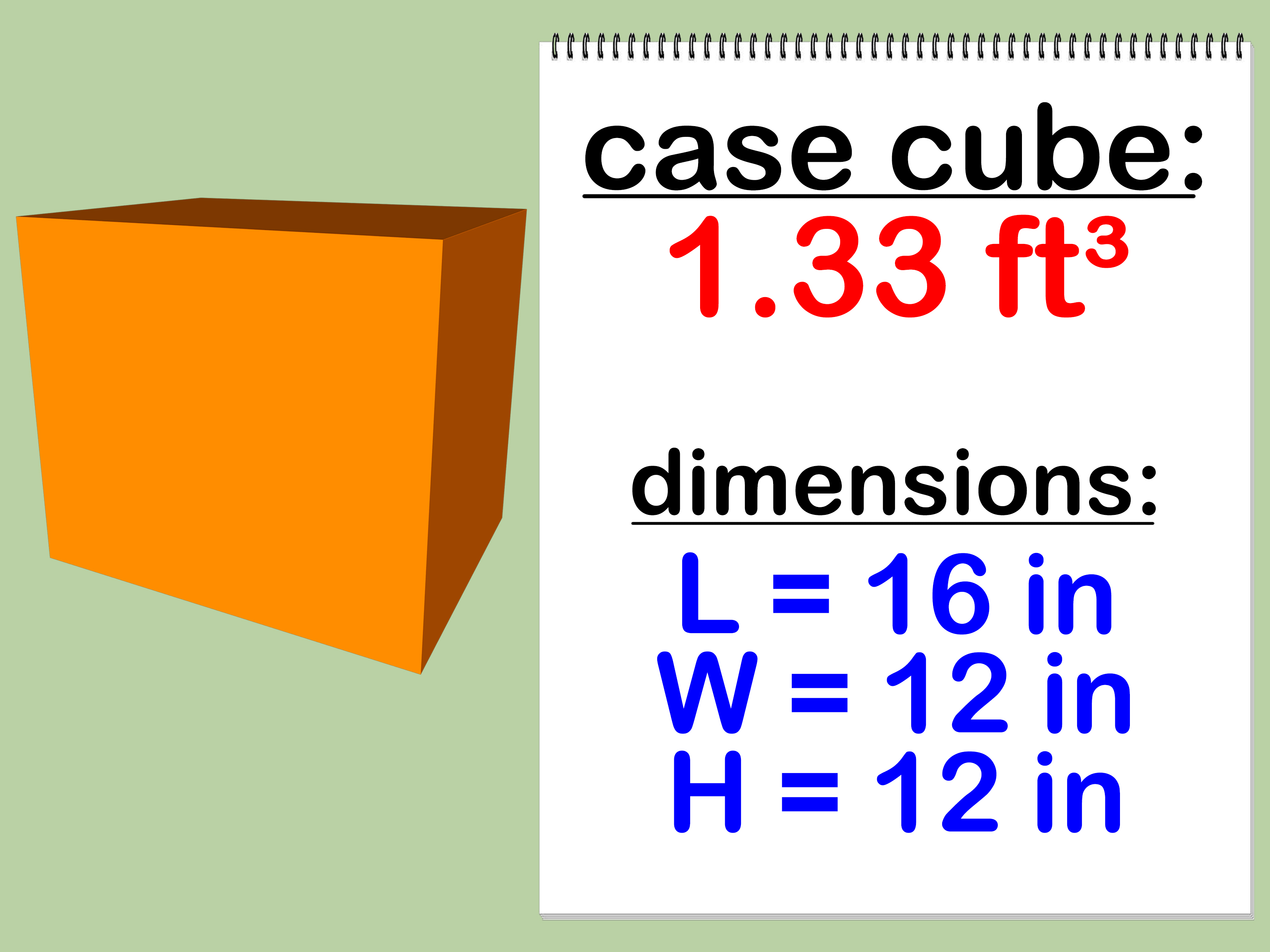 How To Calculate The Case Cube Of A Box 4 Steps With