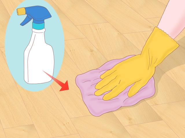 14 Ways to Clean Parquet Floors - wikiHow