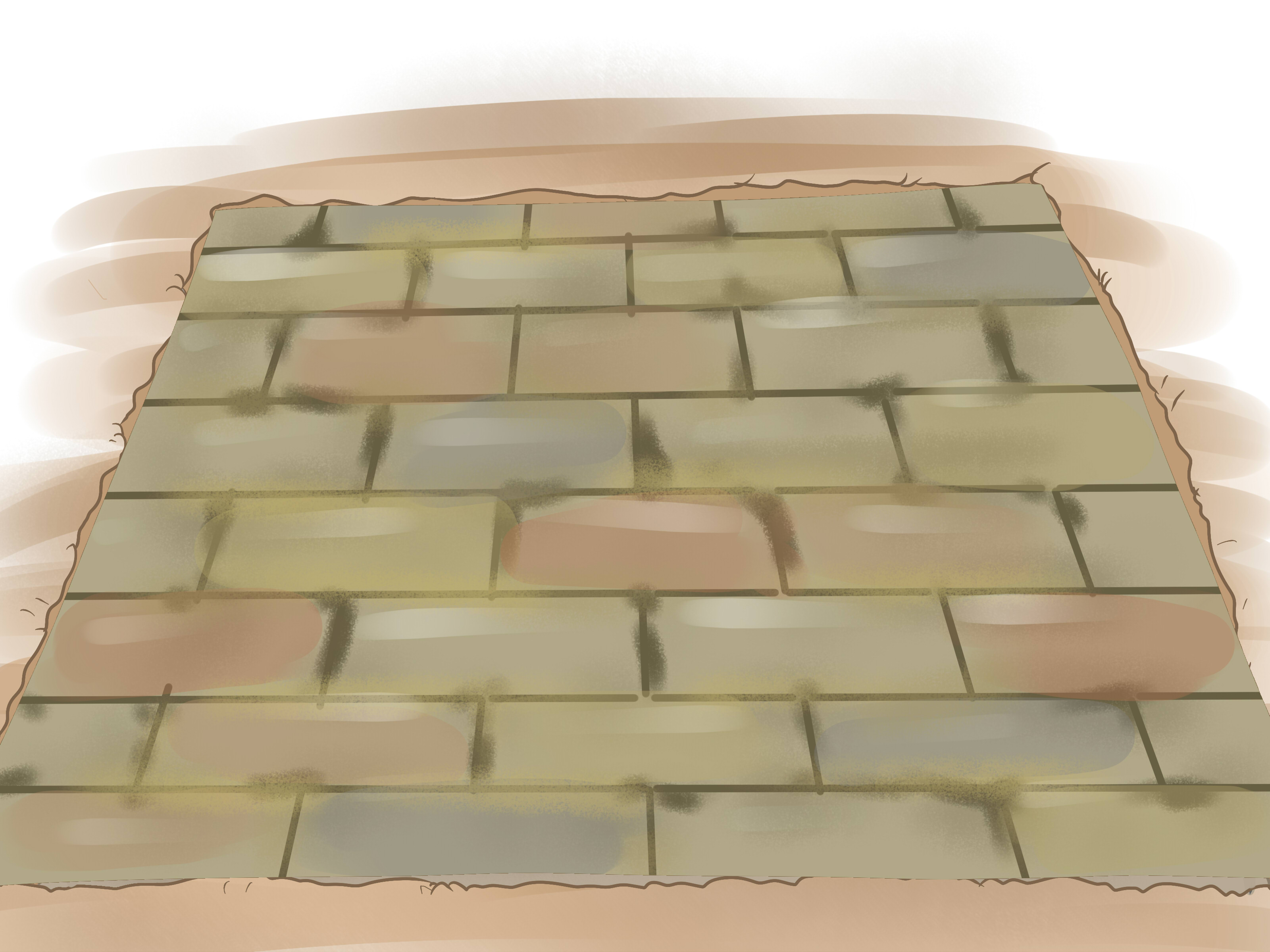How To Install Concrete Pavers 11 Steps With Pictures