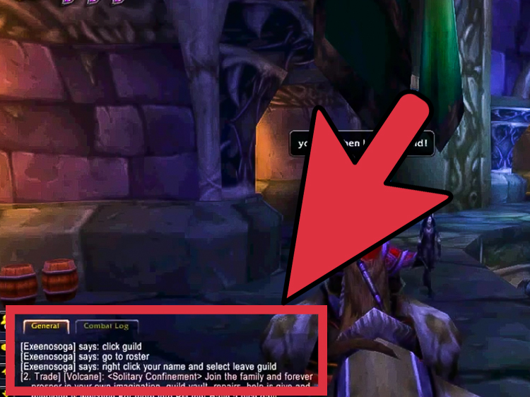 How To Leave A Guild In World Of Warcraft 5 Steps With