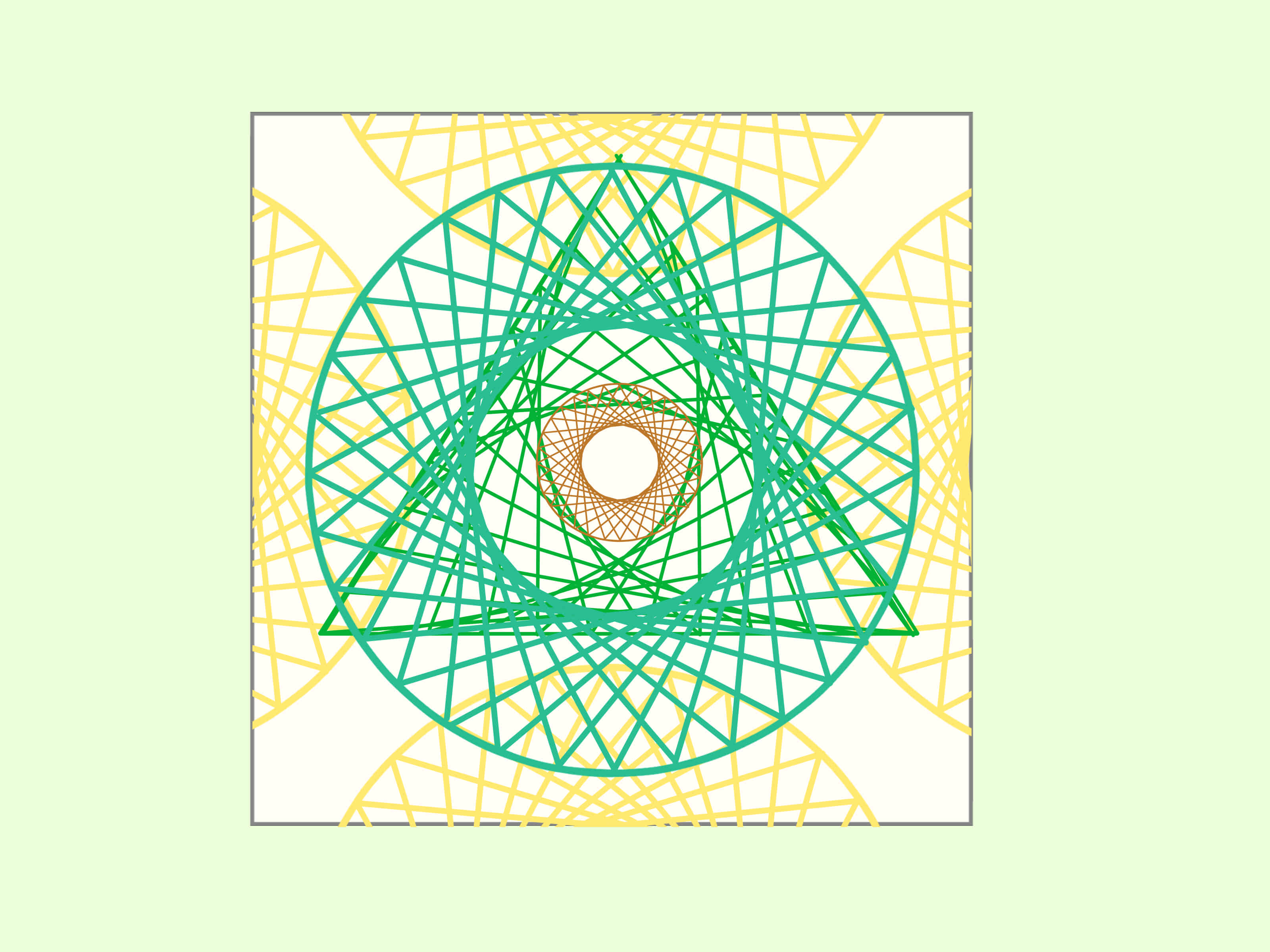4 Ways To Draw A Parabolic Curve A Curve With Straight Lines
