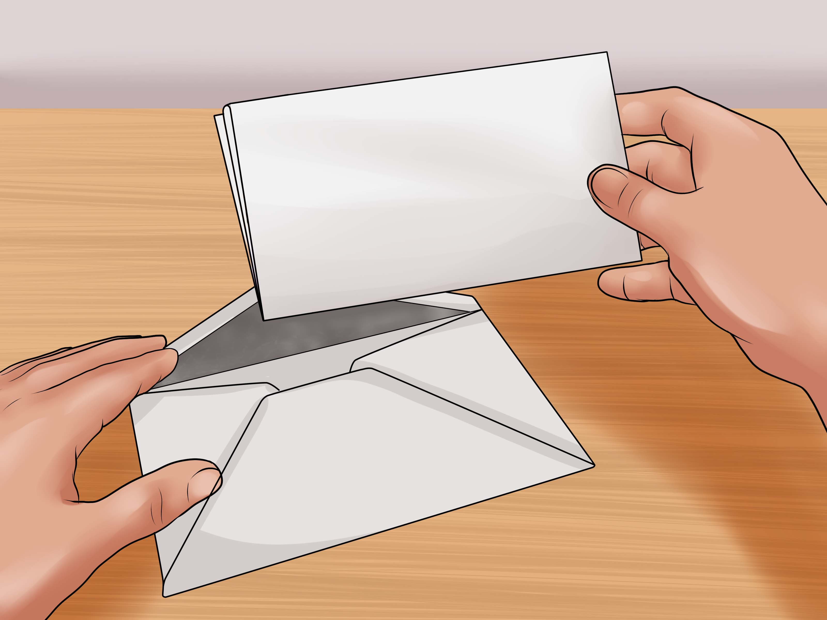 how write attention envelope