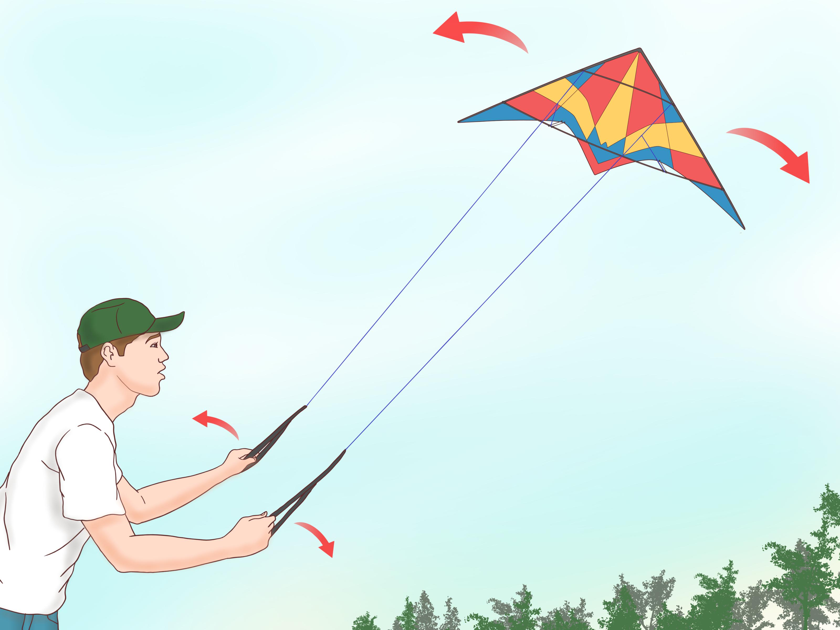 How To Fly A Stunt Kite 9 Steps With Pictures