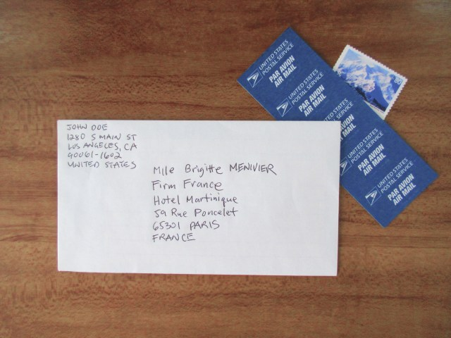 How To Write France Mailing Address  hno.at