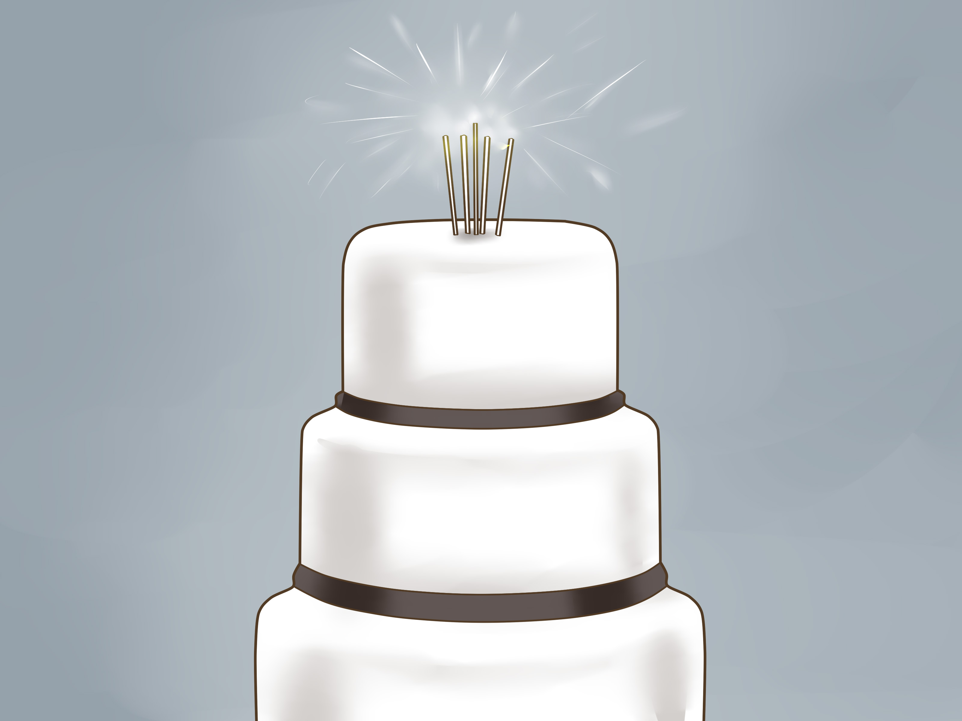 3 Ways to Choose a Unique Wedding Cake Topper   wikiHow