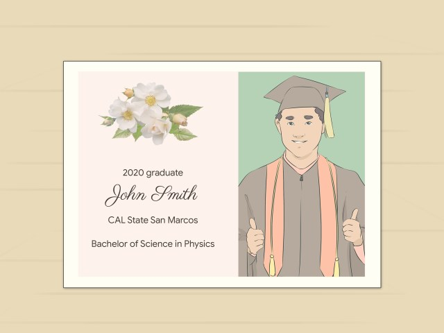 25 Simple Ways to Address Graduation Announcements - wikiHow