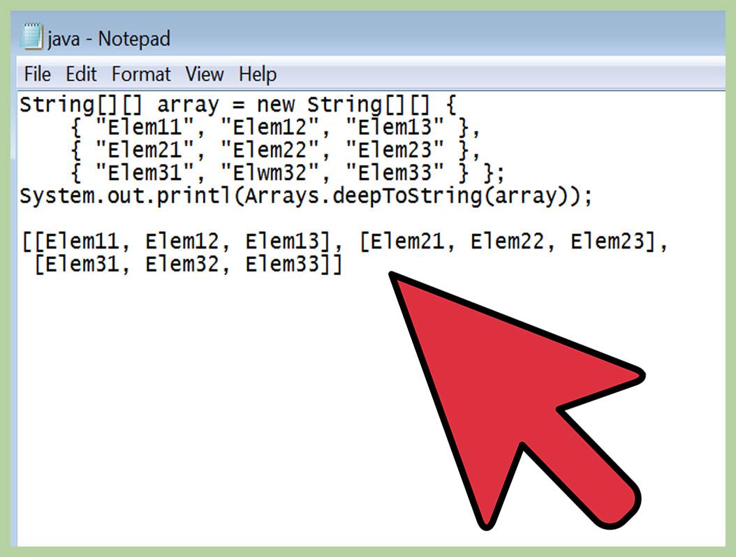 3 Formas De Exibir Um Vetor Em Java