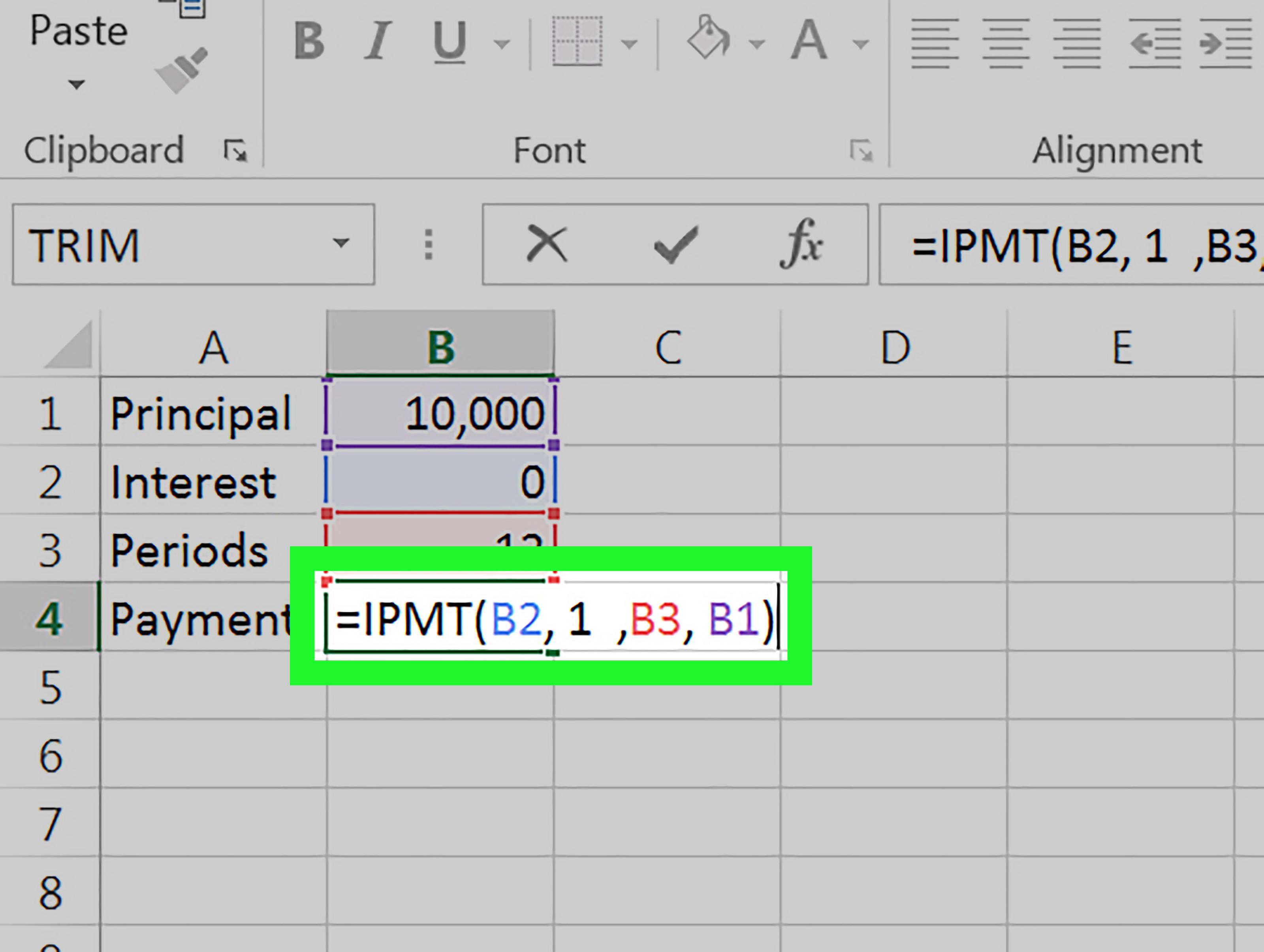 Como Calcular Pagamento De Juros No Excel 8 Passos