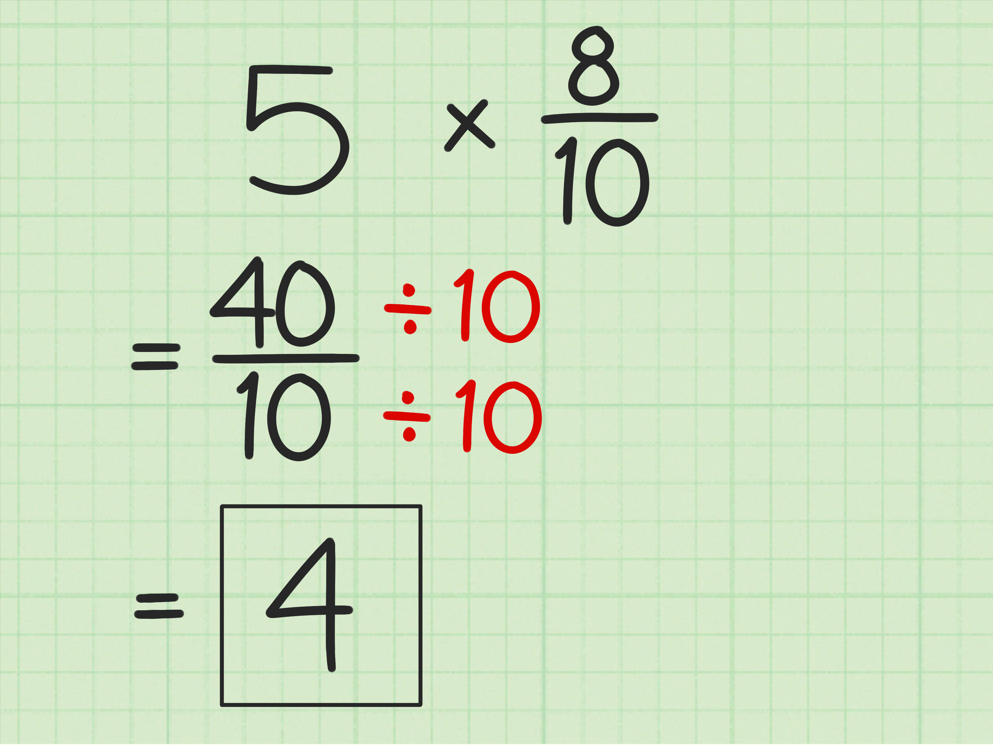 3 Ways To Multiply Fractions With Whole Numbers