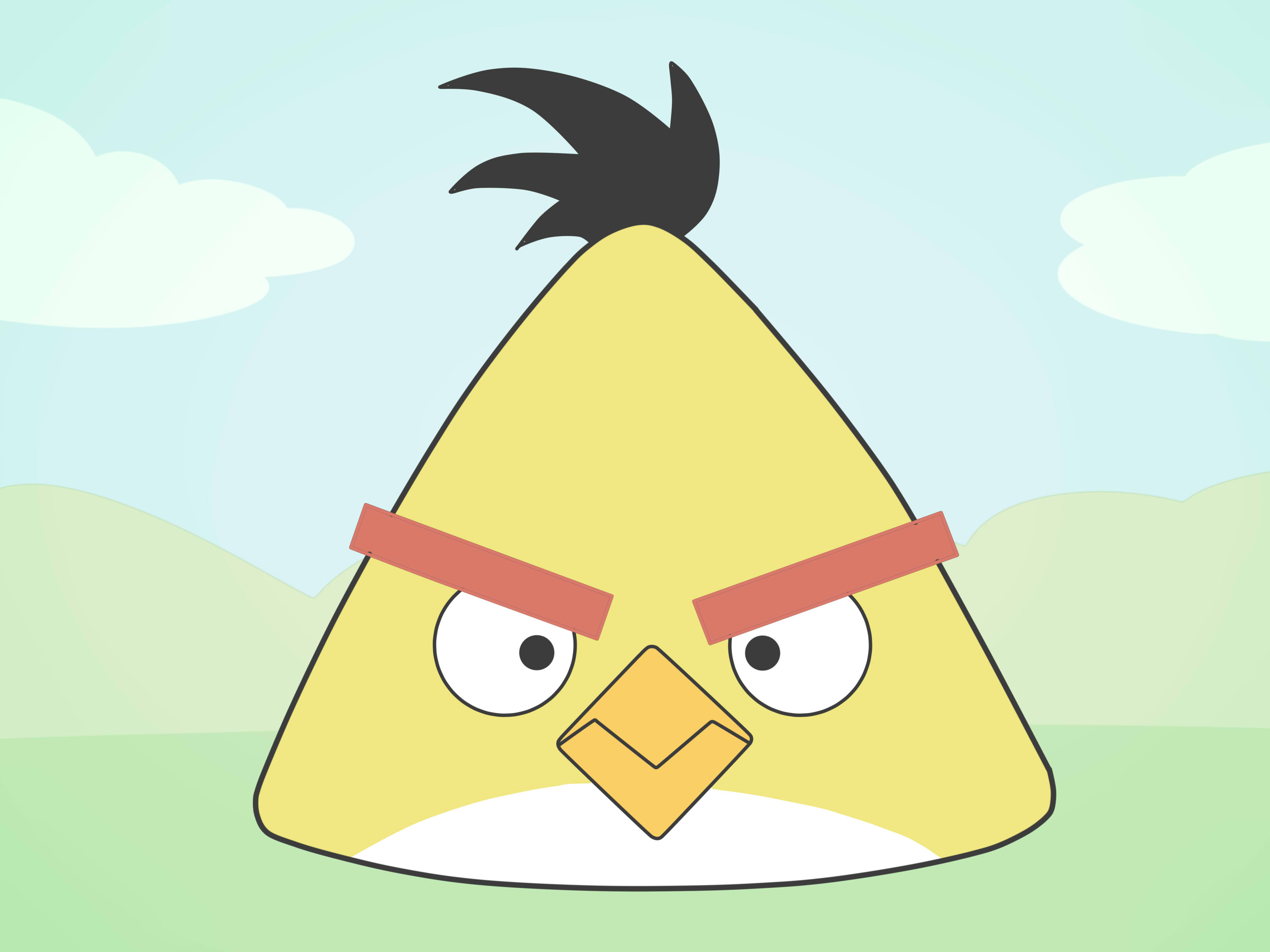 How To Draw An Angry Bird Emotions 15 Steps With Pictures