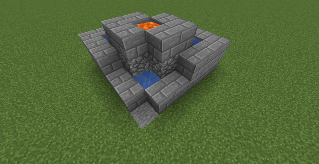 How to Make a Dual Cobblestone Generator in Minecraft: 24 Steps