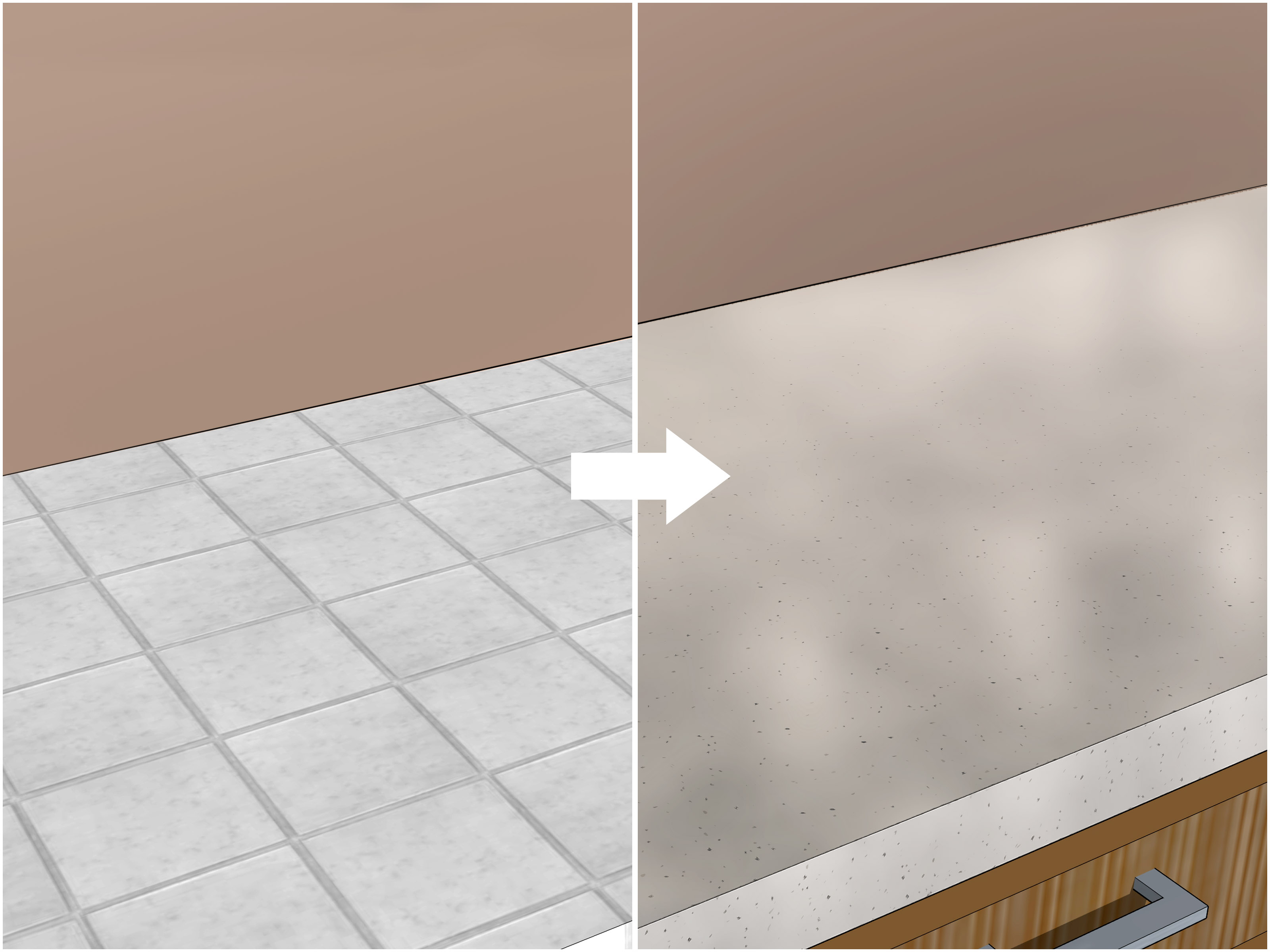 simple ways to cover tiles cheaply 8