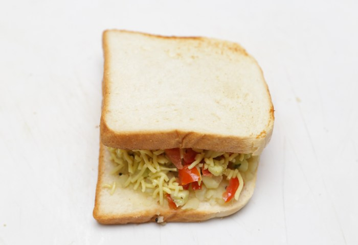 How To Make An Indian Vegetable Sandwich 12 Steps With Pictures