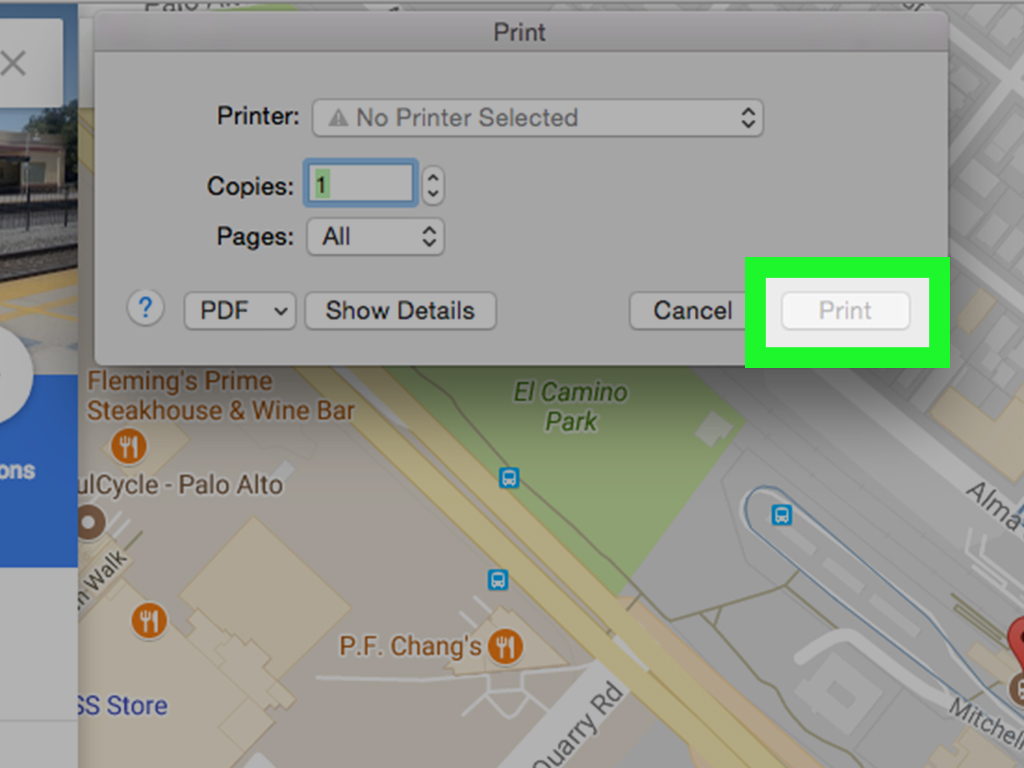 4 Easy Ways to Print Google Maps  with Pictures    wikiHow