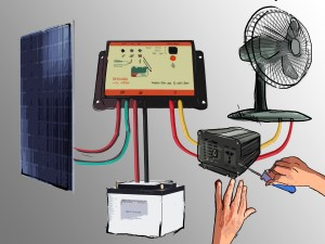 How to Set Up a Small Solar (Photovoltaic) Power Generator