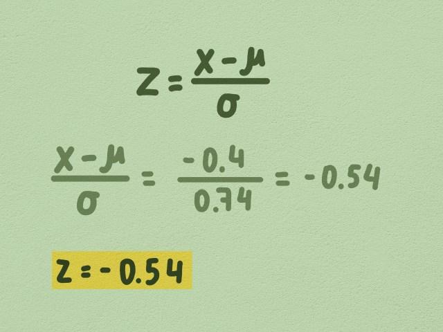 z Werte berechnen: 26 Schritte (mit Bildern) – wikiHow