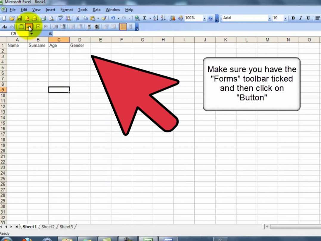 How To Create A Userform In A Spreadsheet 13 Steps