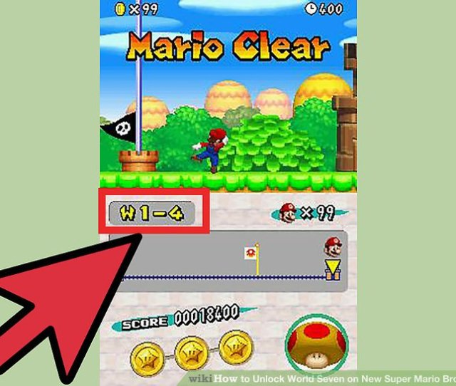 Image Titled Unlock World Seven On New Super Mario Bros Ds Step 2