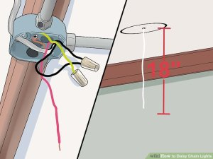 How to Daisy Chain Lights (with Pictures)  wikiHow