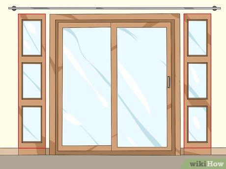 3 ways to decorate patio doors wikihow